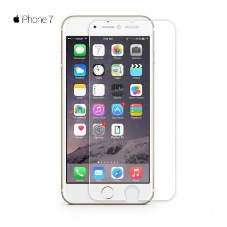 iPhone 8- protection d'écran en verre trempé avant ultra clair ultra resistant