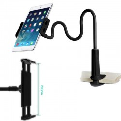 Support Bureau Bras Flexible pour iPad,Galaxy Tab,Xperia Tab