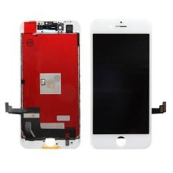 iPhone 8 plus -Kit de réparation écran reconditionné -blanc (Outils offerts)