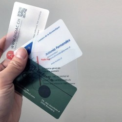 Cartes visite plastifié 500 pièces pour 39CHF