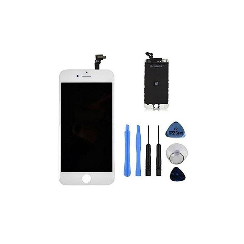 iphone 6 kit de r paration cran complet blanc outils. Black Bedroom Furniture Sets. Home Design Ideas