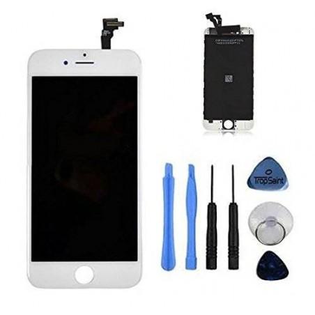 iphone 6 - Kit de réparation écran complet Blanc (Outils offerts)