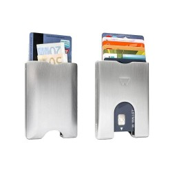 WALTER WALLET portefeuille aluminium