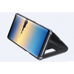 Samsung Galaxy S9 / S9 plus - Coque support FLIP CASE à Rabat - Noir