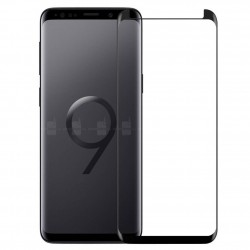 Galaxy S9 / S9 Plus - Protection écran écran 3D en verre trempé version reduite