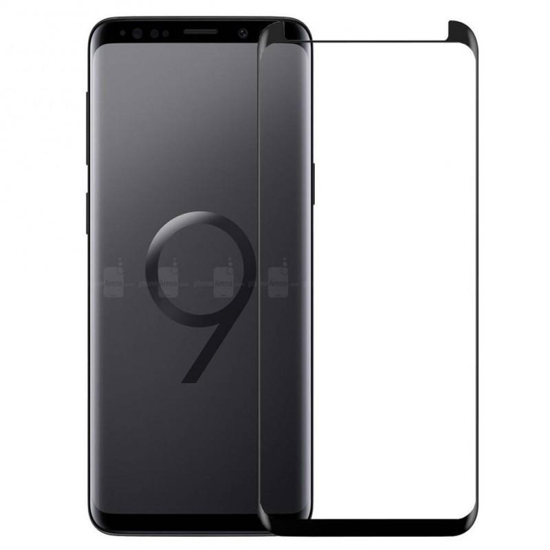 Galaxy S9 / S9 Plus - Protection écran écran 3D en verre trempé version reduite