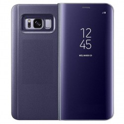 Samsung Galaxy S9 / S9 plus - Coque support FLIP CASE à Rabat - Violet