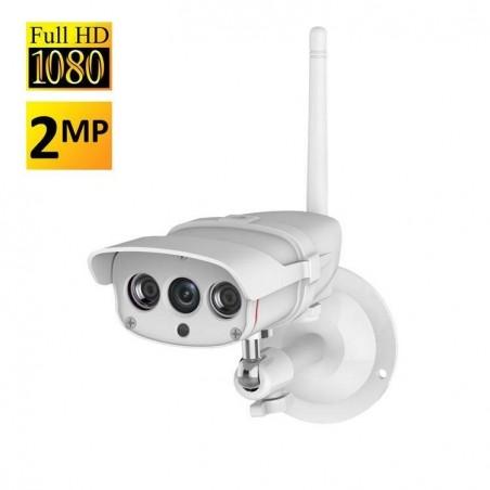 Caméra IP Surveillance wifi Sans-fil nocture 1080p 2Mpixel Caméra de Sécurité