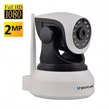 caméra de surveillance domestique 1080P HD Caméra de sécurité sans fil IP WiFiles