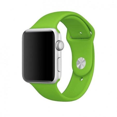Apple Watch 42mm - Bracelet silicon Vert