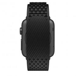 NOOMOON LABB Bracelets pour montres et pour AppleWatch - 42mm - Black