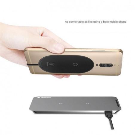 iPhone 7/6/5/SE - Baseus chargeur adaptateur ultra fin Sans Fil récepteur universel (Sans pad chargeur)