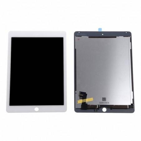 iPad Air 2 - complet screen + vitre tactile blanc