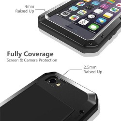 Coque iPhone xs, [Rugged Armor] [Antichoc] Antipoussière Full Body