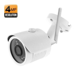Caméra IP Extérieure WiFi Vidéo HD 4 megapixel