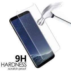 S7 edge - Protection d'écran en Verre Trempé incurvé full cover