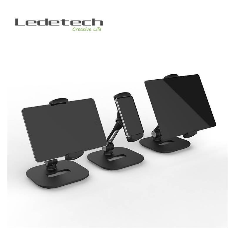 Support métallique ultra stable et solide pour téléphone et tablette,iPhone, iPad jusqu'à 11 pouces.