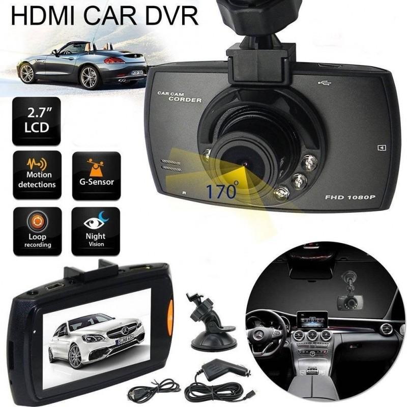 Caméra embarquée mini FullHD munie d'un écran LCD de 2,4 pouces