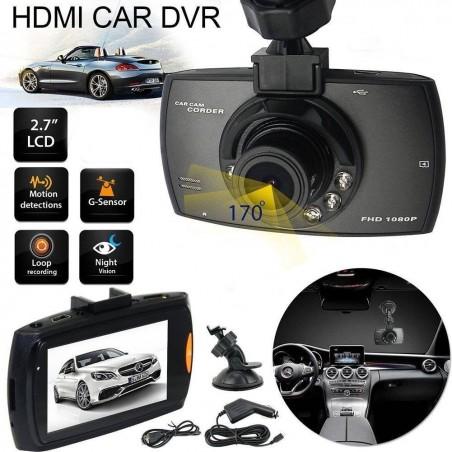 Caméra embarquée mini FullHD munie d'un écran LCD de 2,7 pouces