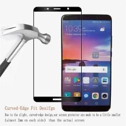 Huawei Mate 10- Protection écran verre trempé fullcover