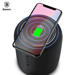 Haut-parleur baseus avec la Charge Sans Fil Double-tweeter Bluetooth 4.2