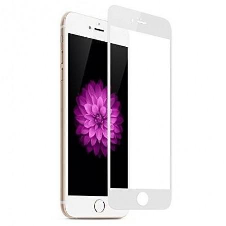iPhone 6(s) plus -protection plein écran Blanc en verre trempé blu ray résistant