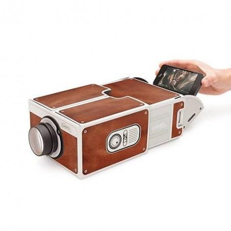 Smartphone Projecteur Portable pour Smartphone 2.0 Lo-FI Marron