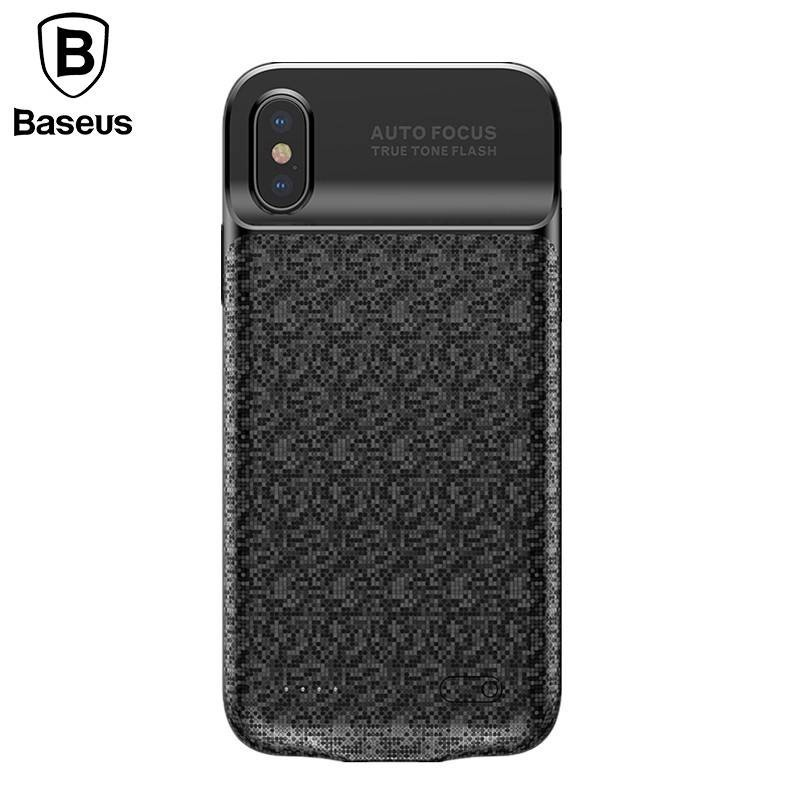 iPhone X/Xs - Chargeur coque batterie 3500mAh Powerbank