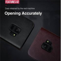 Etui clapet portefeuille Galaxy S9 plus