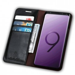 Etui clapet portefeuille Galaxy S9 plus