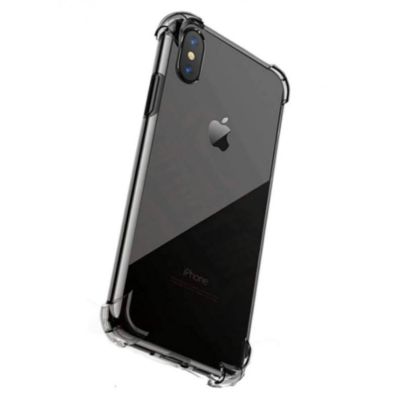 iPhone Xs/Xr/Xs Max - Coque antichoc transparente