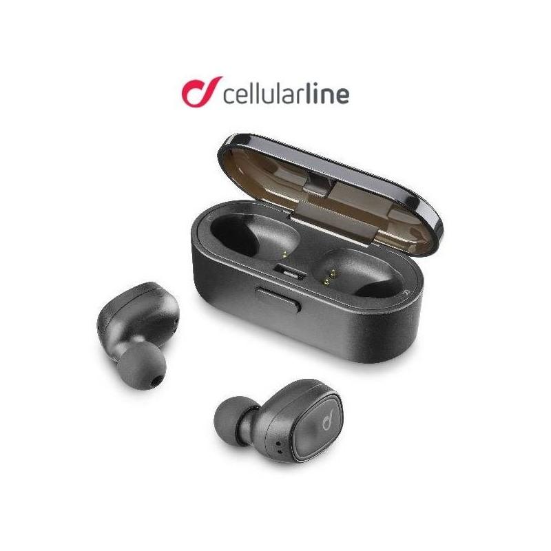 Écouteurs Bluetooth stéréo sans fils avec étui de charge