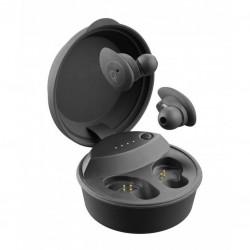 FR-Ecouteurs légers sans fils avec étui de charge de 650mAh