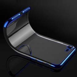 iPhone XR-Coque placage 3 parts - Blue