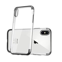 iPhone XR-Coque placage Bleue 3 parts
