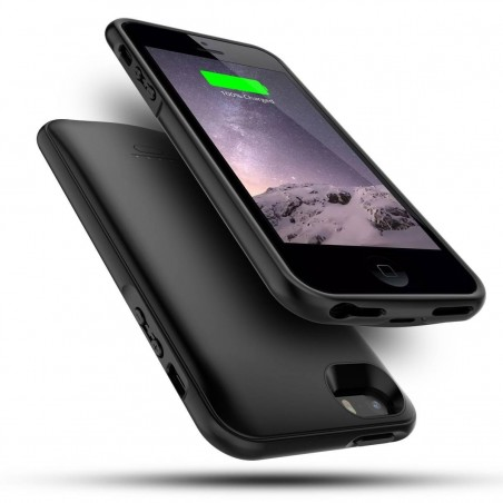 iPhone SE/5s/5 - Coque Batterie Intégrée chargement Externe