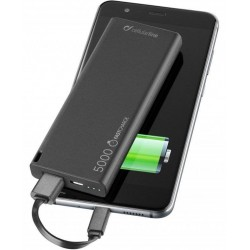 FreePower Slim - Chargeur de batterie - 5000 mAh - Noir