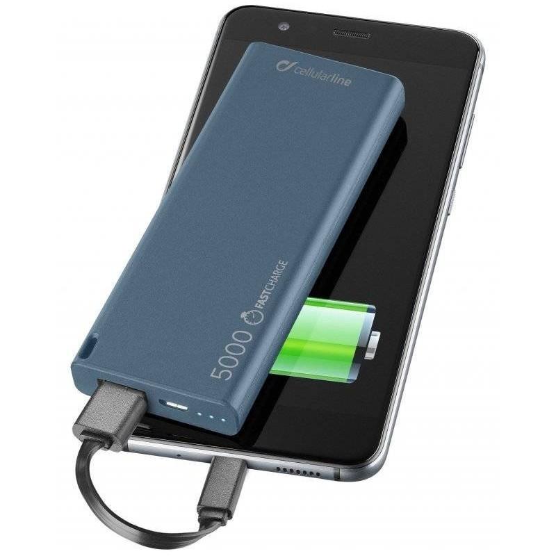 FreePower Slim - Chargeur de batterie - 5000 mAh