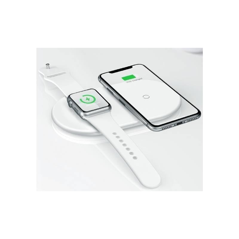 Chargeur rapide sans fil Apple Watch et iPhone 2 en 1 Baseus Dual (10W)