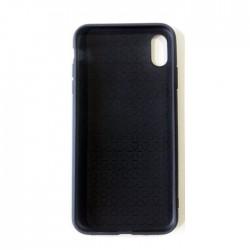 Coque iPhoneXs max Transparente Gel - gold