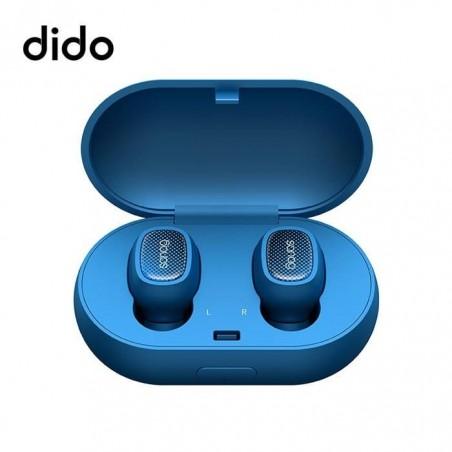 Écouteurs Bluetooth 5.0 Sans fil, Deux Mini Casques Oreillettes Intra-auriculaire - Bleu ocean