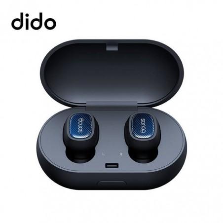 Écouteurs Bluetooth 5.0 Sans fil Deux Mini Casques Oreillettes Intra-auriculaire - Metal slate
