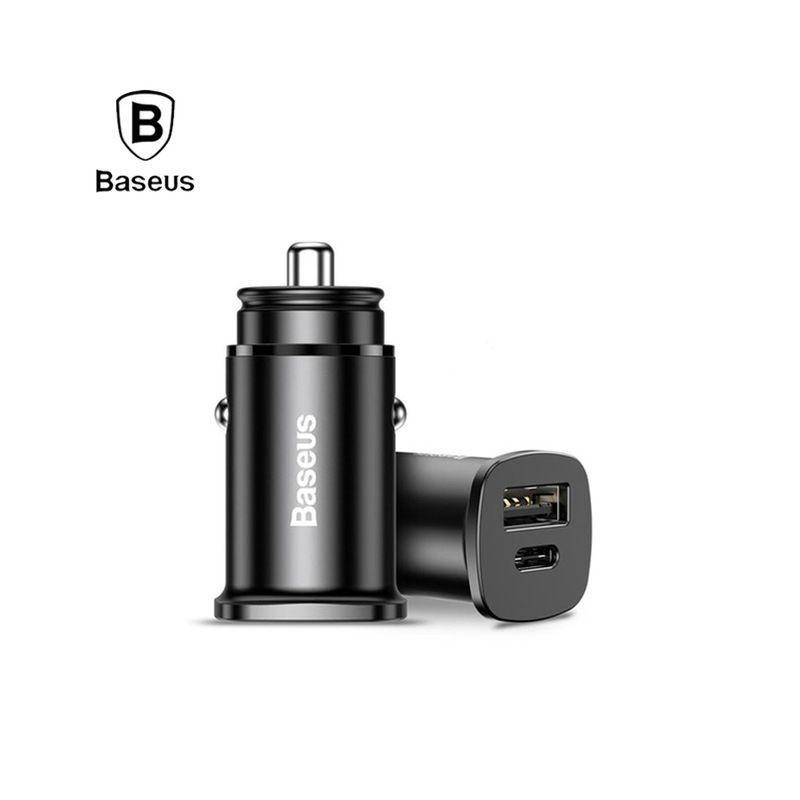 Chargeur allume cigare rapide Baseus 30W avec Sortie USB-C
