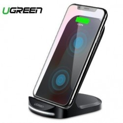 Qi chargeur induction vertical rapide10W