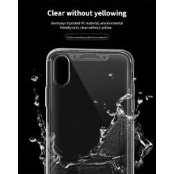 iphone XR-Coque intégrale transparente