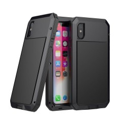 Coque iPhone XS/X Rugged Armor Antichoc Antipoussière Full Body