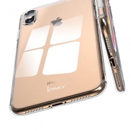 iphone Xs max-Coque intégrale transparente