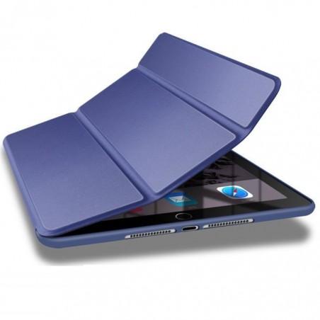 iPad 2/3/4 - étui support smartcase souple Bleu