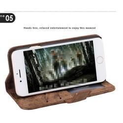 iPhone 8/7 - Etui portefeuille cuir