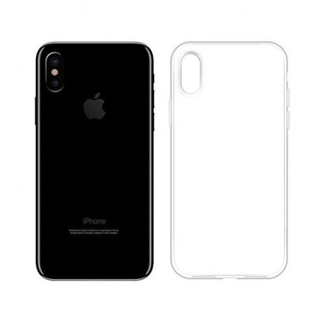iPhone Xs Max-Coque transparente Anti-Poussière